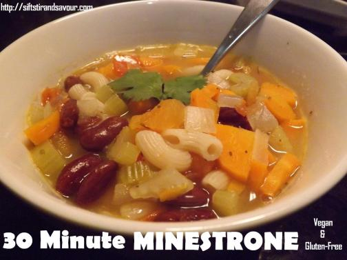 30 Minute Minestrone Soup