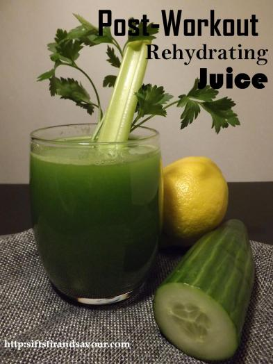 Post-Workout Re-hydrating Juice
