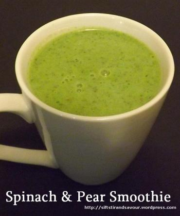 Spinach & Pear Smoothie