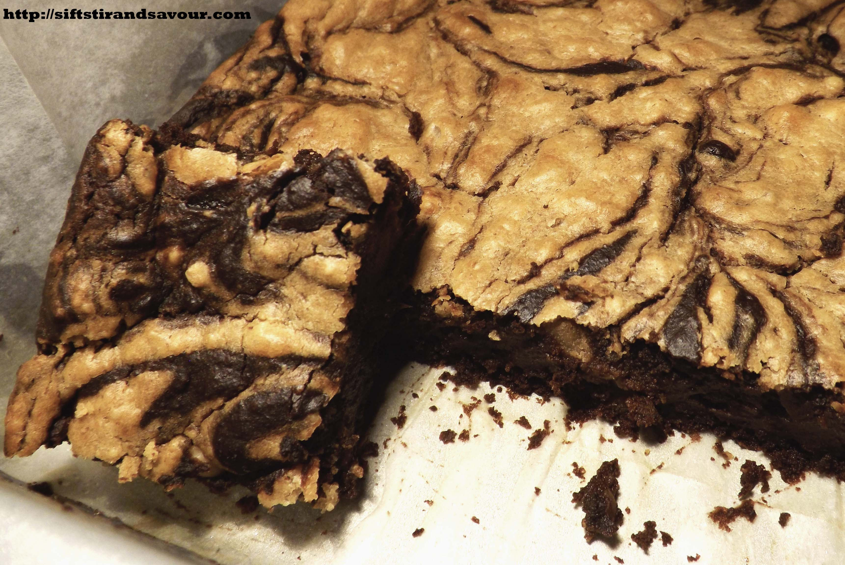 PEANUT BUTTER SWIRL BROWNIES- Vegan, Gluten & Grain- Free, Refined ...