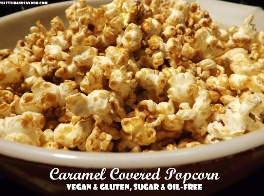 Caramel Covered Popcorn