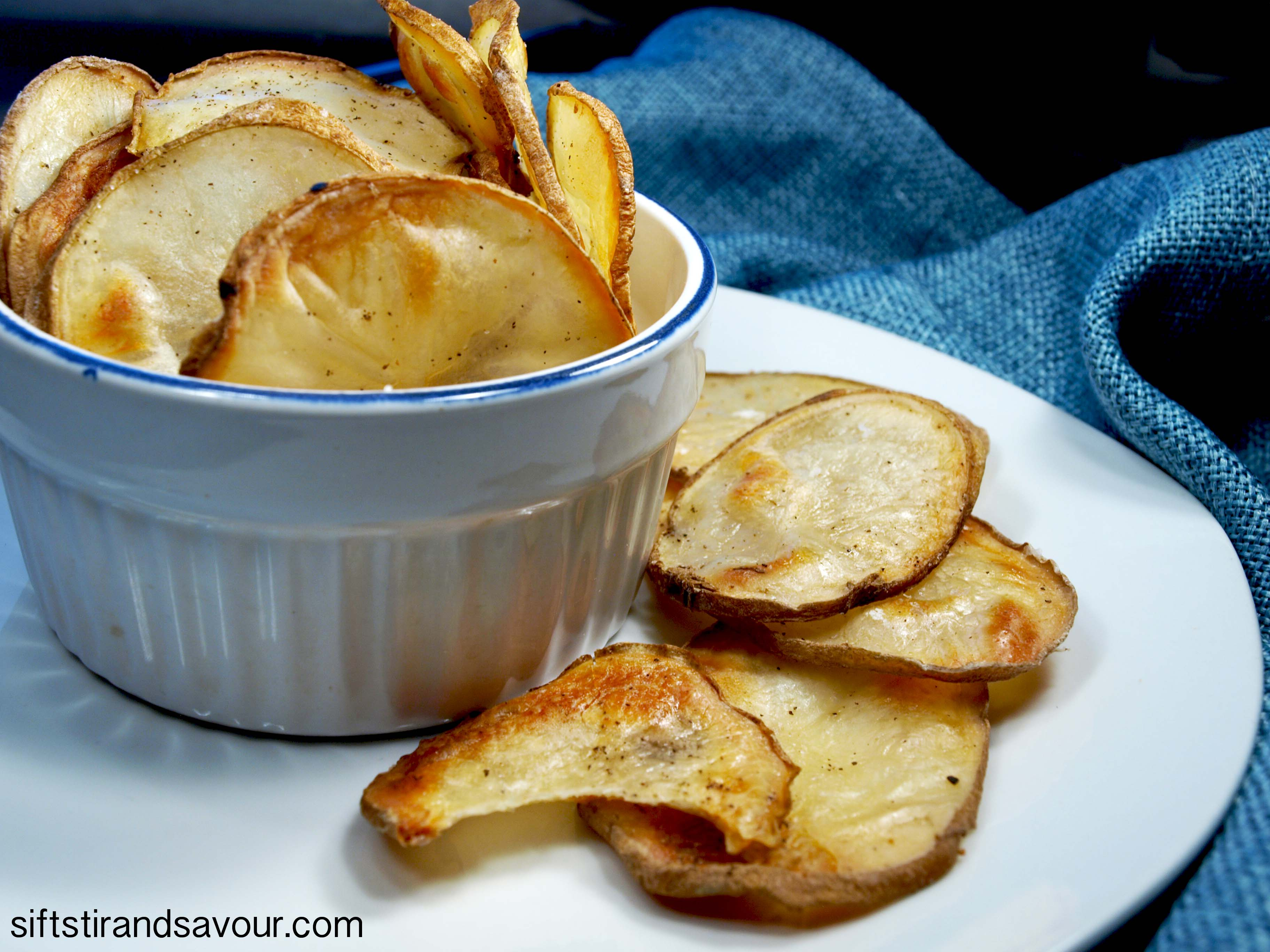 Homemade Potato Chips homemade potato chips - vegan & oil-free sift ...