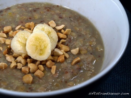 Grain-Free Peanut Butter Banana Porridge