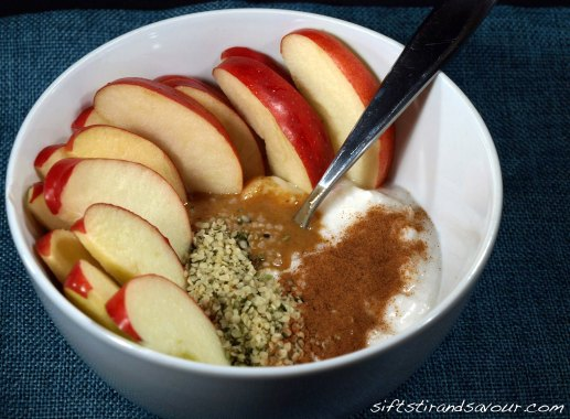 Apple Snack Bowl