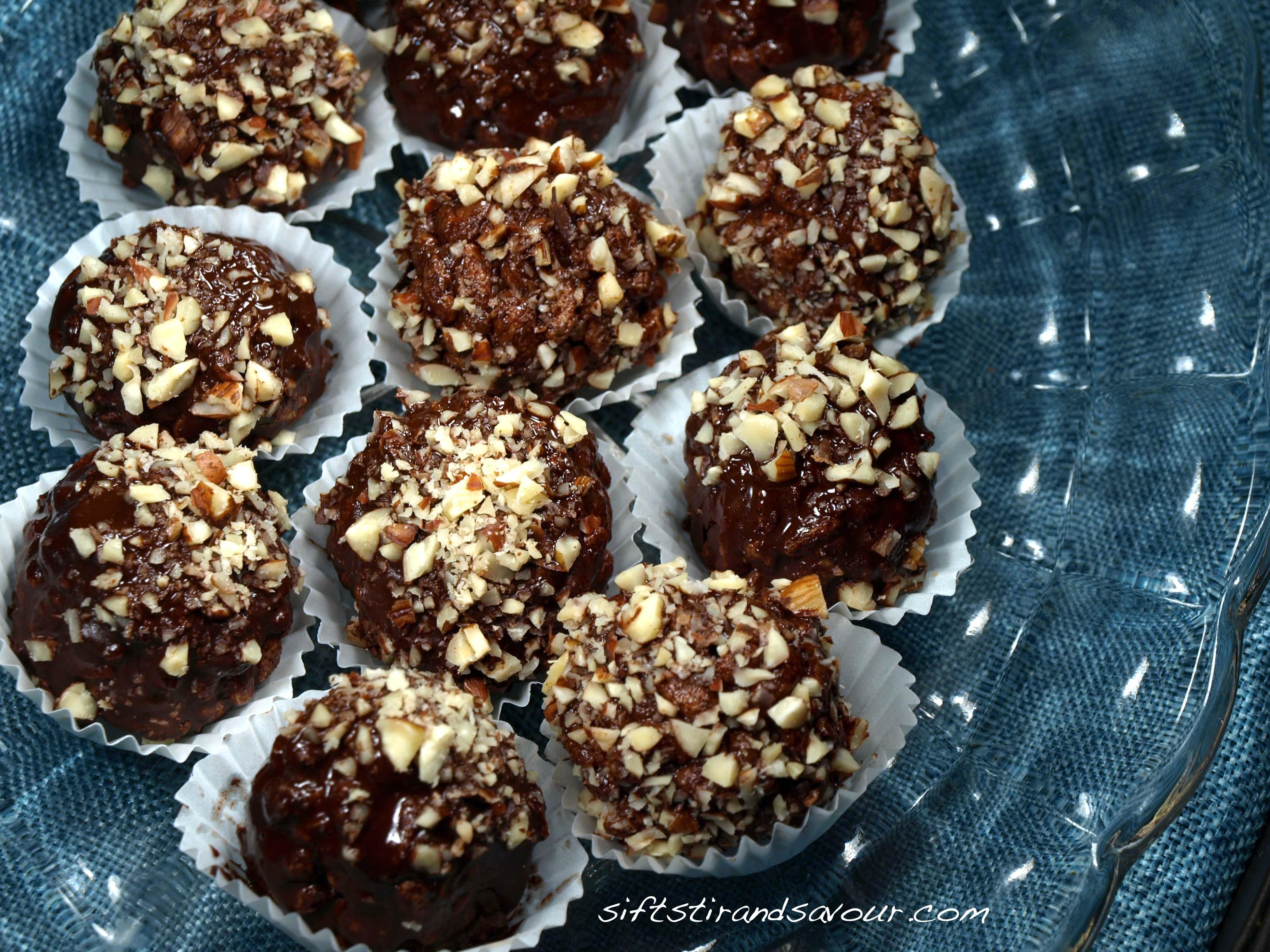 CHOCOLATE HAZELNUT TRUFFLES- Vegan, Gluten-Free & Refined Sugar-Free ...