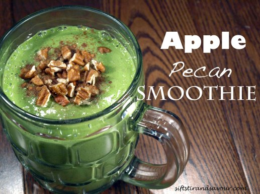 Apple Pecan Smoothie