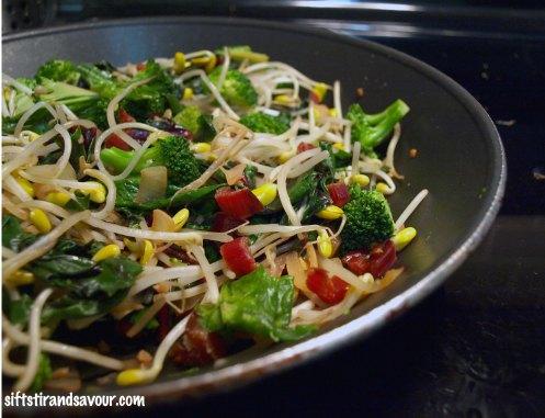 Bean Sprout Stir-Fry