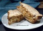 Gooey Peanut Butter Banana Sandwich