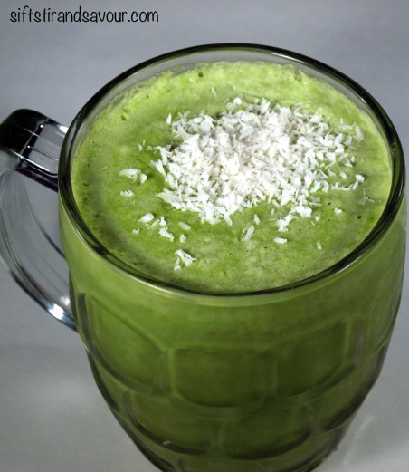 Green Power Pina Colada
