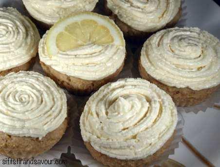 Lemon Burst Cupcakes