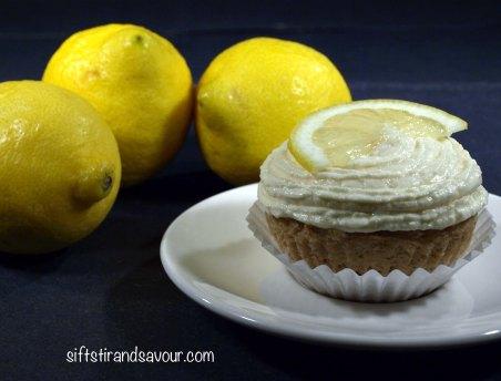 Moist Lemon Cupcakes