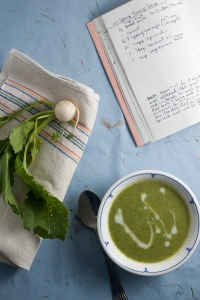 Spinach and Turnip Soup
