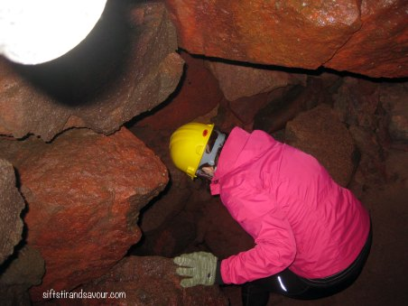 Entering Cave