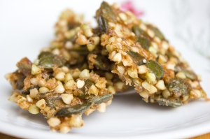 Candied Buckwheat and Pumpkin Seeds