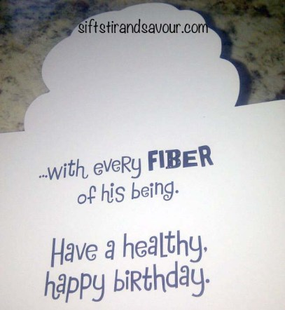 Inside Birthday Card
