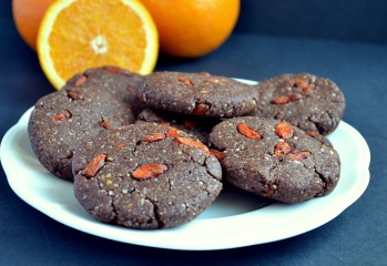 Chocolate Orange Gogi Cookies
