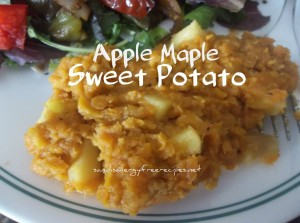 Apple Maple Sweet Potato