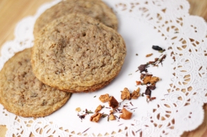 Chocolate Mint Tea Cookies