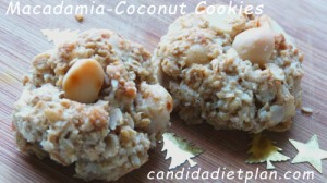 Macadamia-Coconut-Cookies