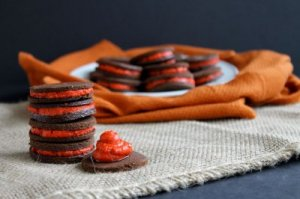 Peppermint Oreo Cookies