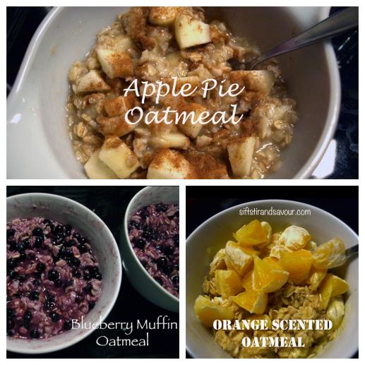 Apple Pie, Blueberry Muffin, Orange Scented