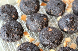 Chocolate Maca Cookies