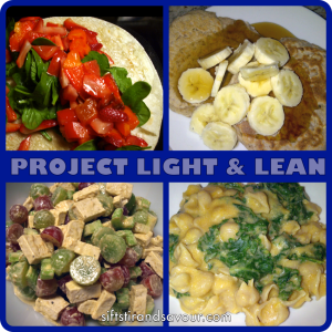 PROJECT LIGHT & LEAN: Breakfast Chapter (Pancakes & Granola)