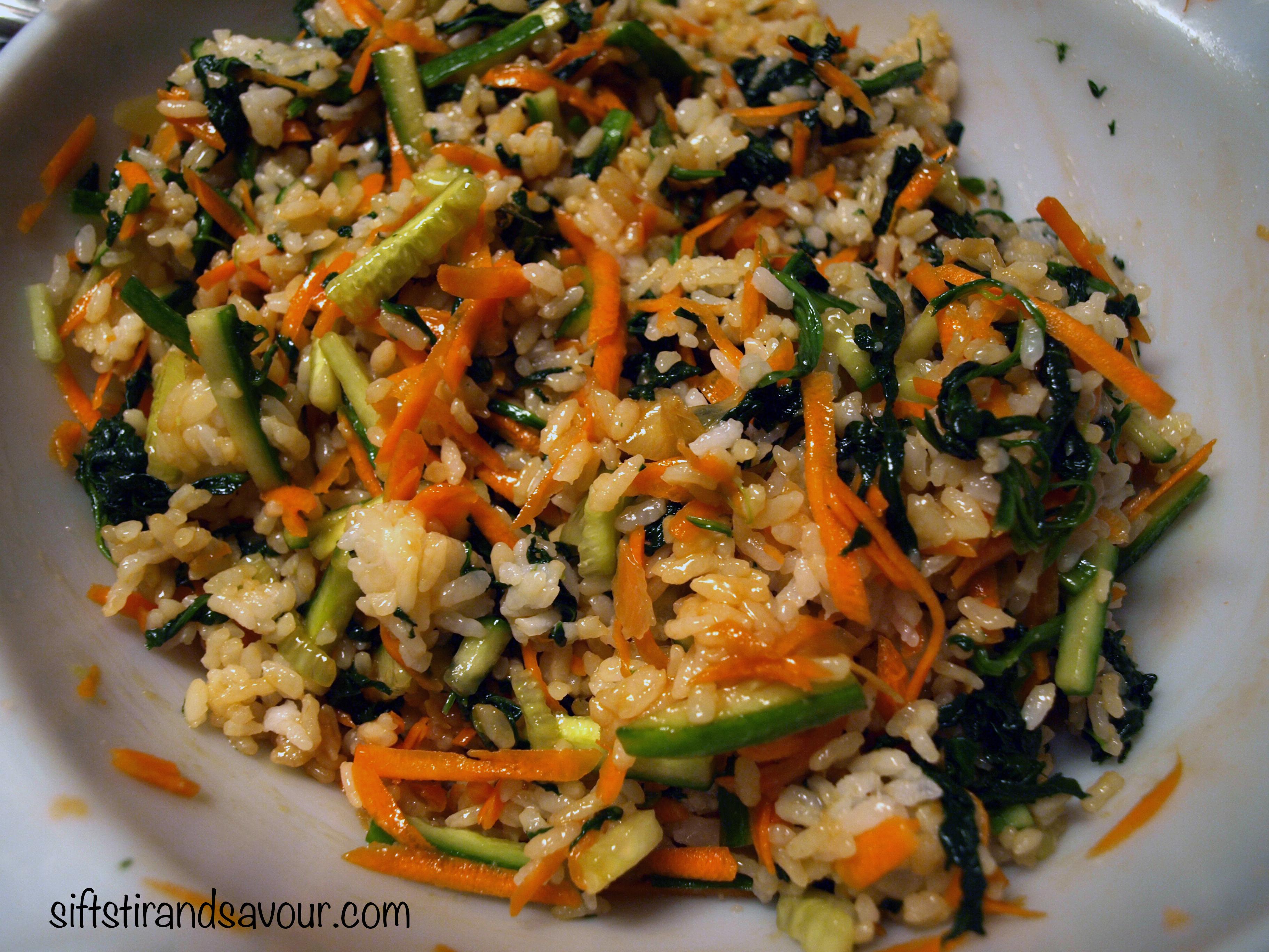 ... sushi cake sushi rice deconstructed sushi bowl sushi salad sushi salad
