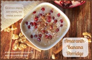Amaranth Banana Porridge
