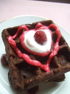 choc-heart-waffles