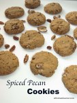 Spiced Pecan Cookies