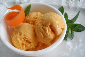 dairy free carrot cake ice cream