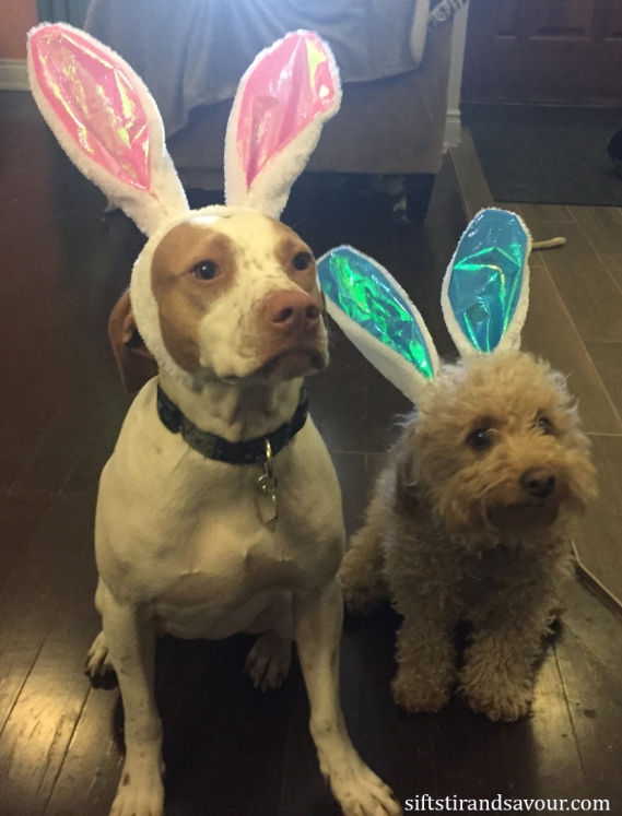 Easter Pups-label