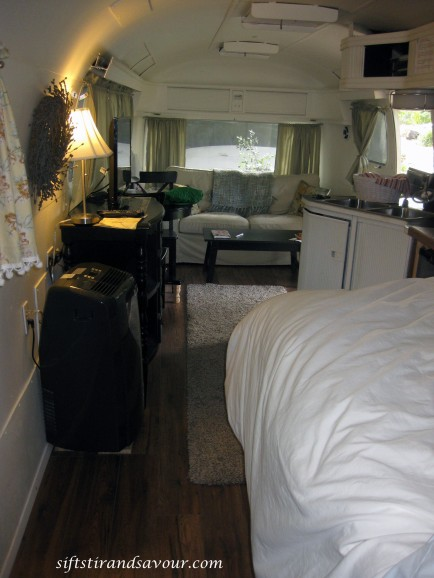 inside airstream